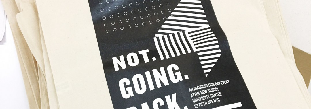 Not Going Back conference design