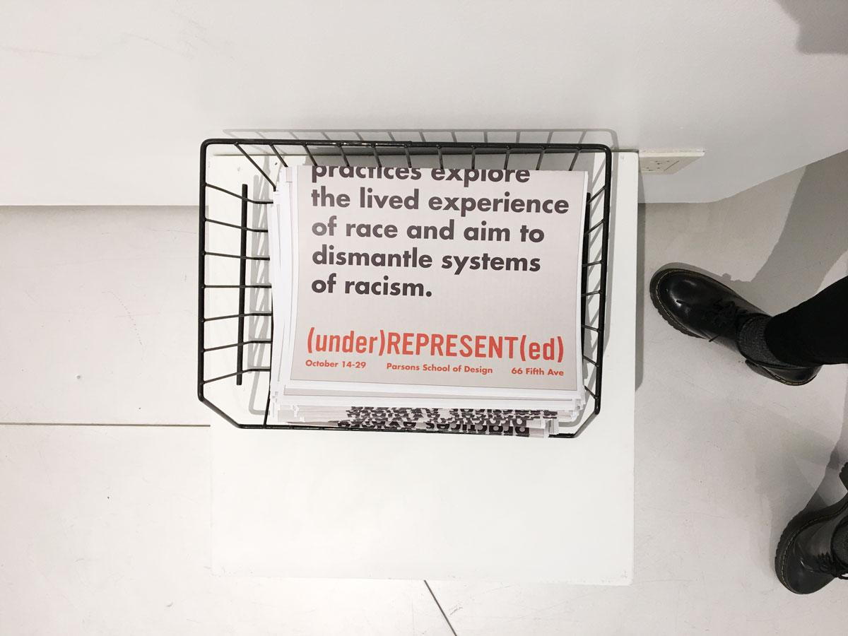 (under)REPRESENT(ed) Exhibition Design