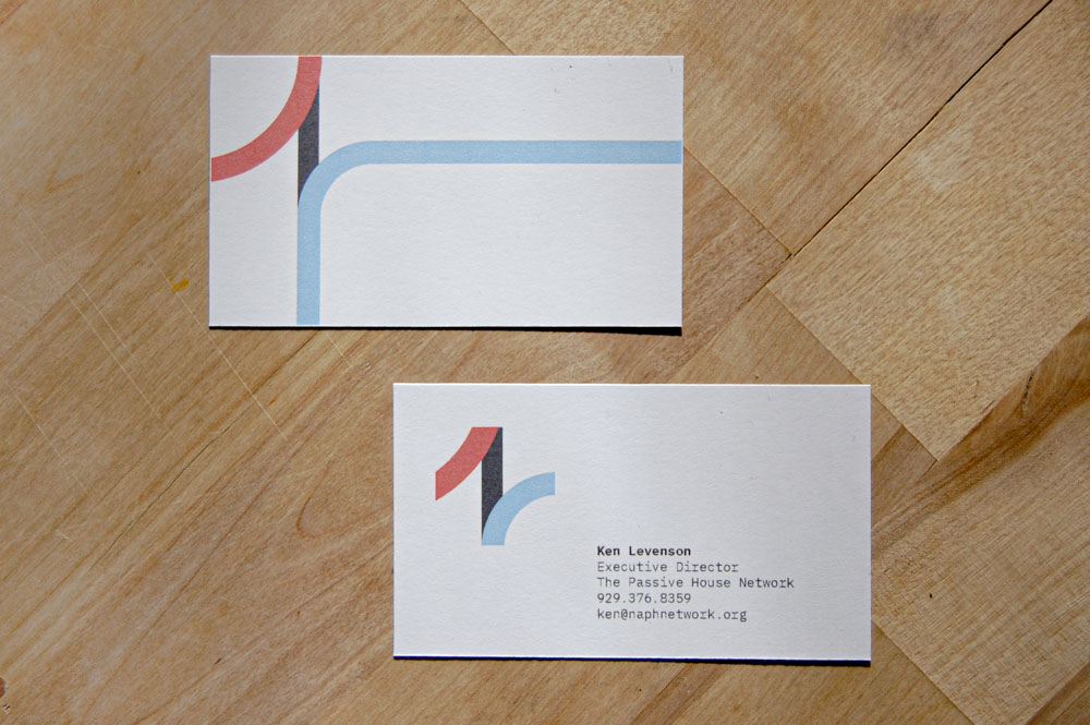 Passive House Business Card Design